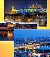 Предколедно трио - Белград, Прага, Виена тръгване от София