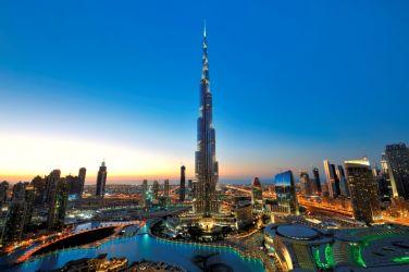 Самолетна ескурзия в Дубай